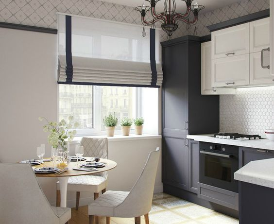 римские шторы на кухню купить в москве салон штор фабритекс